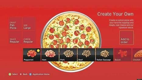 La chaîne Pizza Hut s'adapte aux fans de jeux vidéo   Jeu et Marketing   Scoop.it