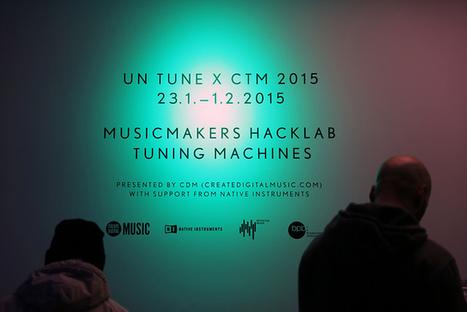 MetaGesture Music team at CTM MusicMakers Hacklab | confettis | Scoop.it