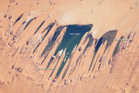Ounianga Lakes, Sahara Desert, Chad : Image of the Day | Lakes of Ounianga | Scoop.it