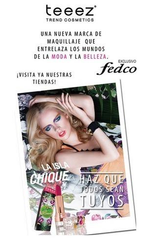 Nueva marca de maquillaje exclusivo Fedco | Fedco noticias | Scoop.it