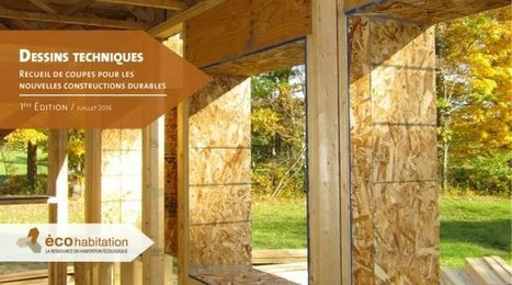 [Livre] Coupes murs, dalles et jonctions pour constructions durables (Canada) - ecohabitation | architecture..., Maisons bois & bioclimatiques | Scoop.it