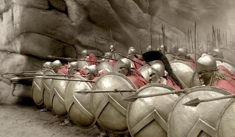 Hoplitas griegos, la infantería invencible | Mundo Clásico | Scoop.it