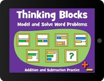 Thinking Blocks - Model and Solve Math Word Problems | mrpbps iDevices | Scoop.it