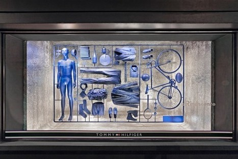 Shop Window Features A Pop-Out Kit Of Men's Wardrobe Essentials [Pics] | Store 3.0 | Scoop.it