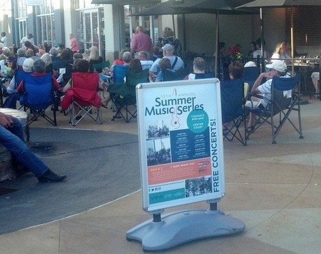 Annual 'Summer Music Series' at Eastwood Towne Center draws crowd | LCC #STARPOWER in the News | Scoop.it