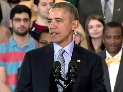 """Obama: """"We Don't Resent Success; We Are Thrilled With The Opportunities That America Affords"""" 