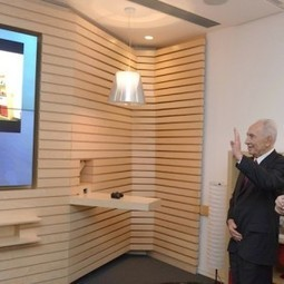 Peres gets a peek at Microsoft's 'living room of tomorrow' - The Times of Israel | Video conference Room Acoustics | Scoop.it