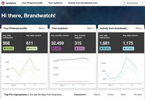 The Definitive Guide To The Top 9 Pinterest Analytics Tools | Product Management - Technology and B2B  - Best Practices, Research about | Scoop.it