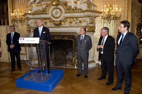 Laurent Fabius, premier ambassadeur des Grands Crus classés de Bordeaux - Le blog d'iDealwine sur l'actualité du vin | Le vin quotidien | Scoop.it