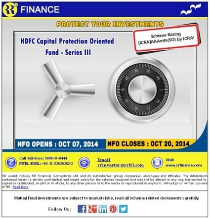 HDFC Capital Protection Oriented Fund Series-III | Online Share Trading | Stock Broking Company | Scoop.it