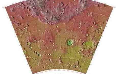 Tracce di possibili eventi vulcanici esplosivi trovate nella Grande Thaumasia su Marte | Marte | Scoop.it