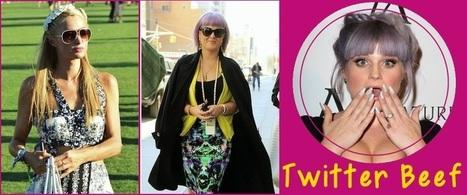 Twitter Beef:  Paris Hilton Calls Kelly Osbourne A 'B**ch' at Coachella Party, Feud Ignites | Celebrity Gossip | Scoop.it