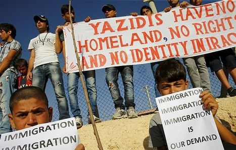 Yazidi refugees flee ISIS, but find door to US asylum closed | Terrorists | Scoop.it