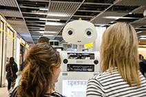 LAAS-CNRS - Spencer le robot guide les voyageurs à l'aéroport Schiphol d'Amsterdam | Actualité des laboratoires du CNRS en Midi-Pyrénées | Scoop.it