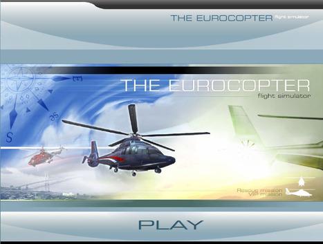 The Eurocopter flight simulator | 3D Experiences | Scoop.it