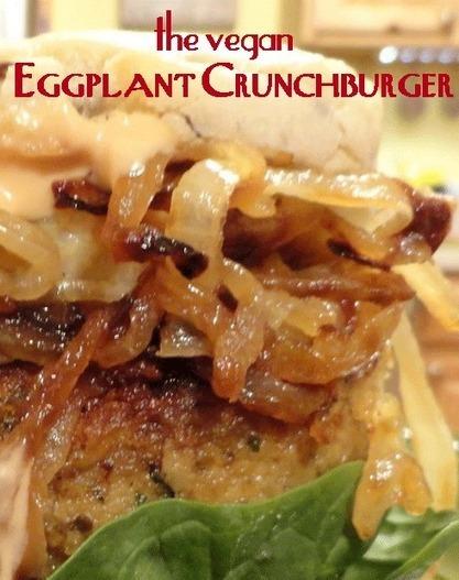 Meatless Monday with the Vegan Eggplant Crunchburger | My Vegan recipes | Scoop.it