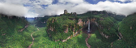 Venezuela. Surroundings of Angel Falls-360 Degree Aerial Panorama | Shock Wave | Scoop.it