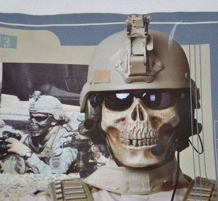 Half Face Protection Skull Skeleton Warrior Armor Mask | Airsoft Paintball Mask | Scoop.it