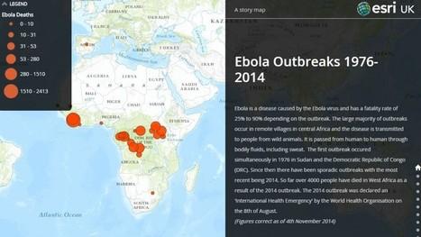 Ebola outbreaks interactive map released | GISuser.com | VizWorld | Scoop.it
