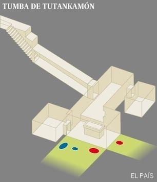 La tumba de Tutankamón tiene dos cámaras secretas que contienen metal y material orgánico | Egiptología | Scoop.it