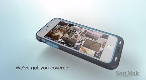 Cette coque vous permet d'étendre la mémoire de votre iPhone | Le Web, ses évolutions et les NTIC vues par un avocat. | Scoop.it