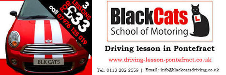 Take the Help of the Sublime Driving School in the City | Driving Instructors School in Pontefract | Driving Lesson | Scoop.it