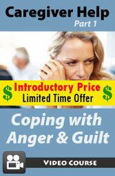Caregiver Help: Coping with Anger & Guilt – New Video CE Course « PDResources | Continuing Education Courses and Videos | Scoop.it