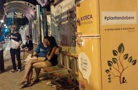 Au Brésil, un réfrigérateur converti en Little Free Library aurait été volé | SoFrenchy | Scoop.it
