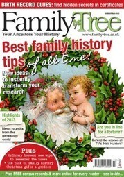 Family Tree magazine Christmas 2013 — Family Tree   British Genealogy   Scoop.it