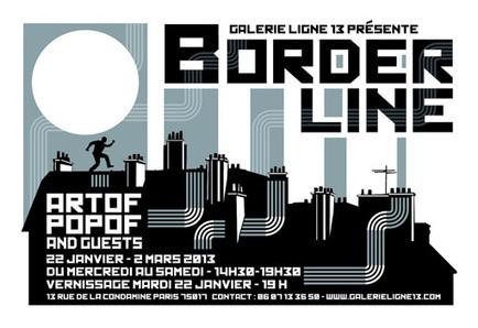 Artof Popof @ Galerie Ligne 13, Paris | Rap , RNB , culture urbaine et buzz | Scoop.it