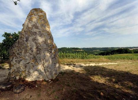 Le mystère du menhir de  la Croix du diable à Tayrac   Mégalithismes   Scoop.it