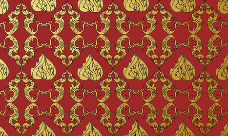 Thai Elephant Pattern Thai Pattern