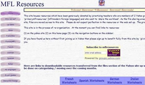 mflresources | ICT4Languages | Scoop.it