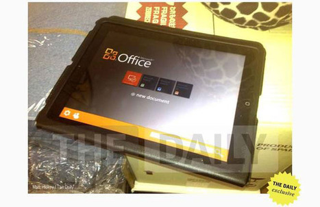 Free Microsoft Office app for iPhone, iPad to be released in early 2013 | Tech in Education | Scoop.it
