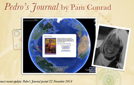 Pedro's Journal by Pam Conrad UPDATED! | Google Lit Trips: Reading About Reading | Scoop.it