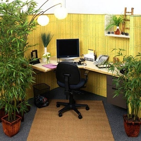 5 Wonderful Home Office Cubicle Decoration Ideas To Motivate Employees | Office Cubicles Tips | Scoop.it