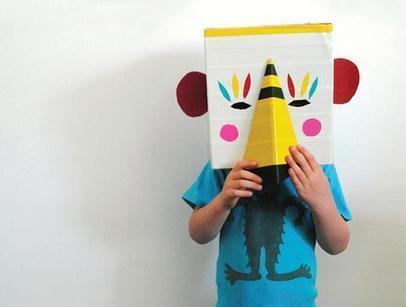 Fiche créative : Masque animal déguisement DIY | Loisirs créatifs, DIY & activités manuelles | Scoop.it