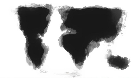 What happens when people draw a map of the world from memory | Maps | Scoop.it