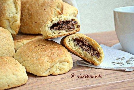 Ricettosando - ricette di cucina e chiacchiere: Saccottini dolci brioches al cioccolato | Ricettosando | Scoop.it