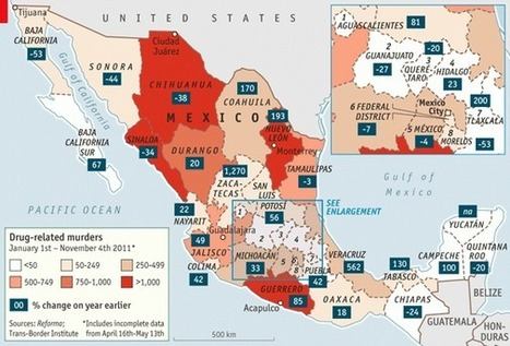Shifting sands: Changing Geography of the Mexican Drug War | Sinica Geography 400 | Scoop.it
