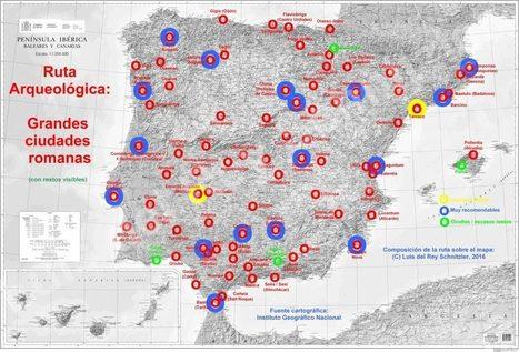 Grandes Rutas Arqueológicas por la Península Ibérica - (1) Grandes ciudades romanas en la Península | Cultura Clásica | Scoop.it