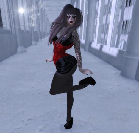 Fashion for the Dark Side: Gothalicious | Finding SL Freebies | Scoop.it
