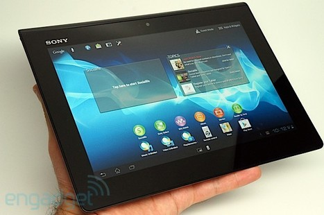 Sony Xperia Tablet S review.. second-gen, slimmer, faster   Mobile IT   Scoop.it