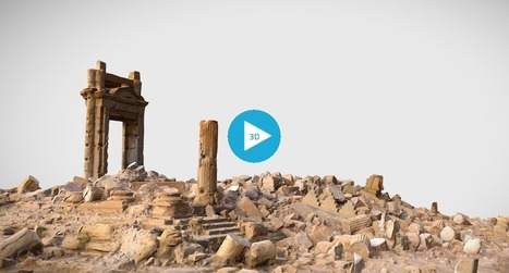 This 3D Model Shows the DAMAGE Caused by ISIS to Palmyra's Temple of Bel | The Architecture of the City | Scoop.it