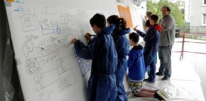 "Les jeunes s'approprient ""l'art de dessiner les lettres""   L'ECHO   Les créations de Tarek   Scoop.it"