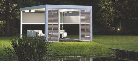 Les nouveaux abris de jardin design   Design, Innovation et Marketing   Scoop.it
