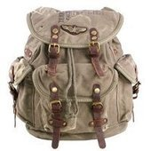 Distressed hunter moutaineering backpacks   personalized canvas messenger bags and backpack   Scoop.it