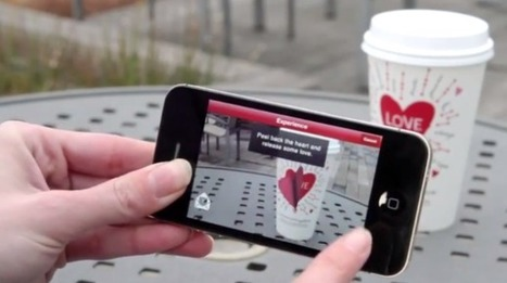 """Starbucks' augmented reality app gets all lovey dovey   La """"Réalité Augmentée"""" (Augmented Reality [AR])   Scoop.it"""
