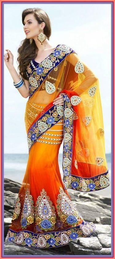 Utsav Gorgous Bridal Indian Sarees Collection 2013 For Women   smartinstep.com   Scoop.it