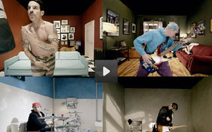 COOL VIDEO: Red Hot Chili Peppers' Interactive Music Video Lets You 'Look Around' | TonyPotts | Scoop.it